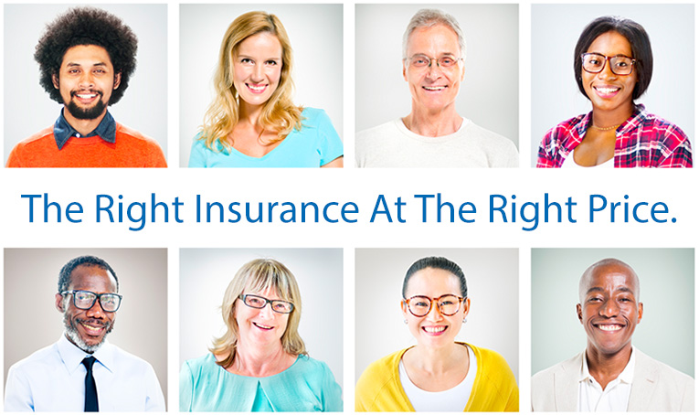 the right insurance at the right price