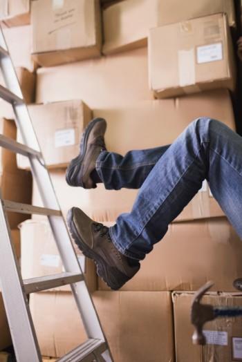 Avoiding Slip and Falls at Home and at Work
