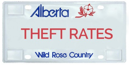 License Plate Theft Rates on the Rise in Calgary