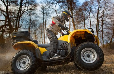 Helmets Could be Mandatory for ATV Riders This Spring