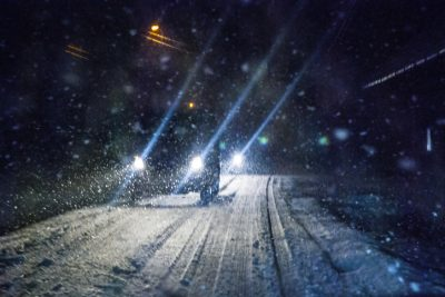 What Not To Do On Winter Roads
